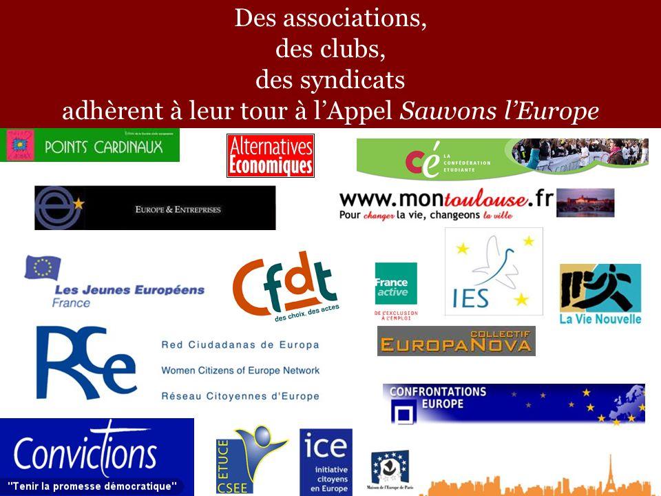 Sauvons lEurope tient son assemblée fondatrice à Rennes, les 1er et 2 octobre 2005