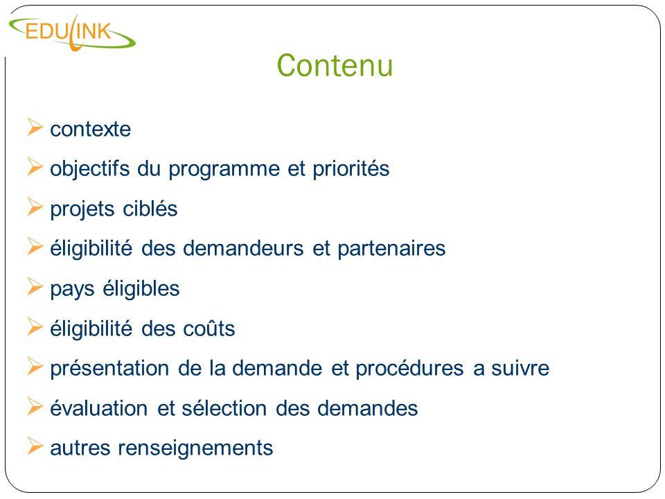 Contexte LUnion européenne a pour stratégie de soutenir lEnseignement Supérieur dans les pays partenaires ACP.