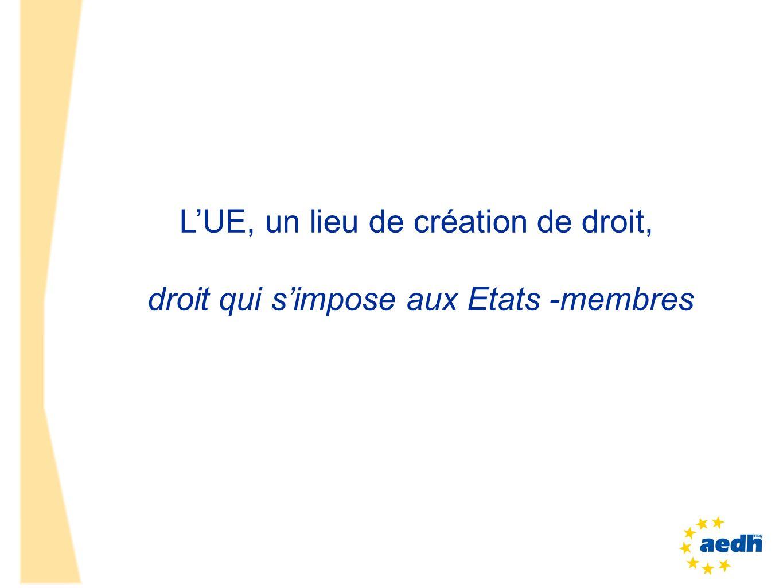 cet accord du 27 avril va aboutir à une «loi» européenne qui aura 27 incidences, dont en France, qui devra la transposer +telle quelle .