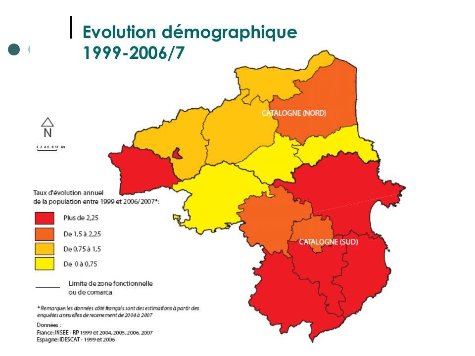 18 Evolution démographique 1999-2006/7