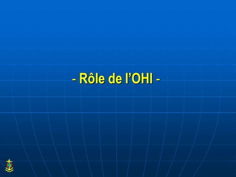 - Rôle de lOHI -