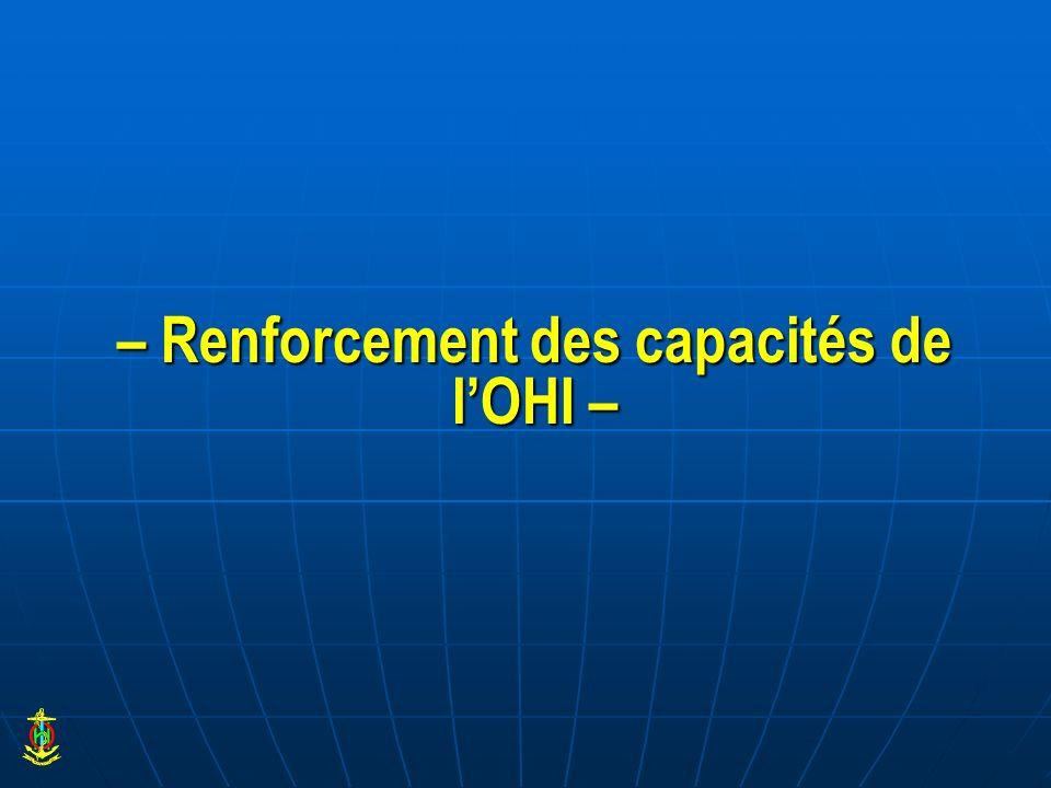 – Renforcement des capacités de lOHI –
