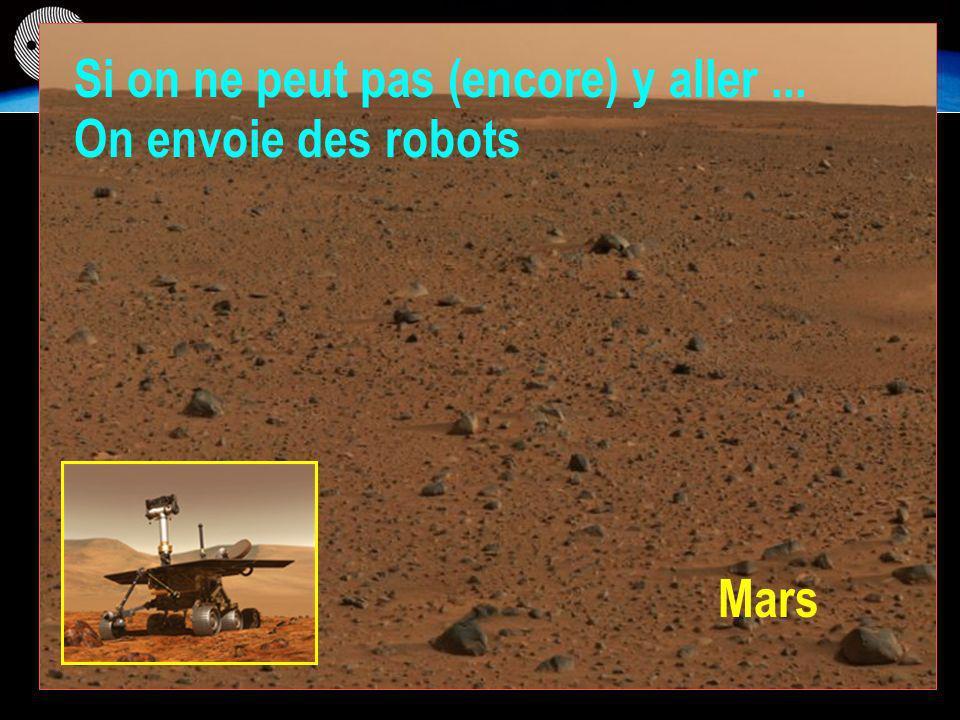 Mars Si on ne peut pas (encore) y aller... On envoie des robots
