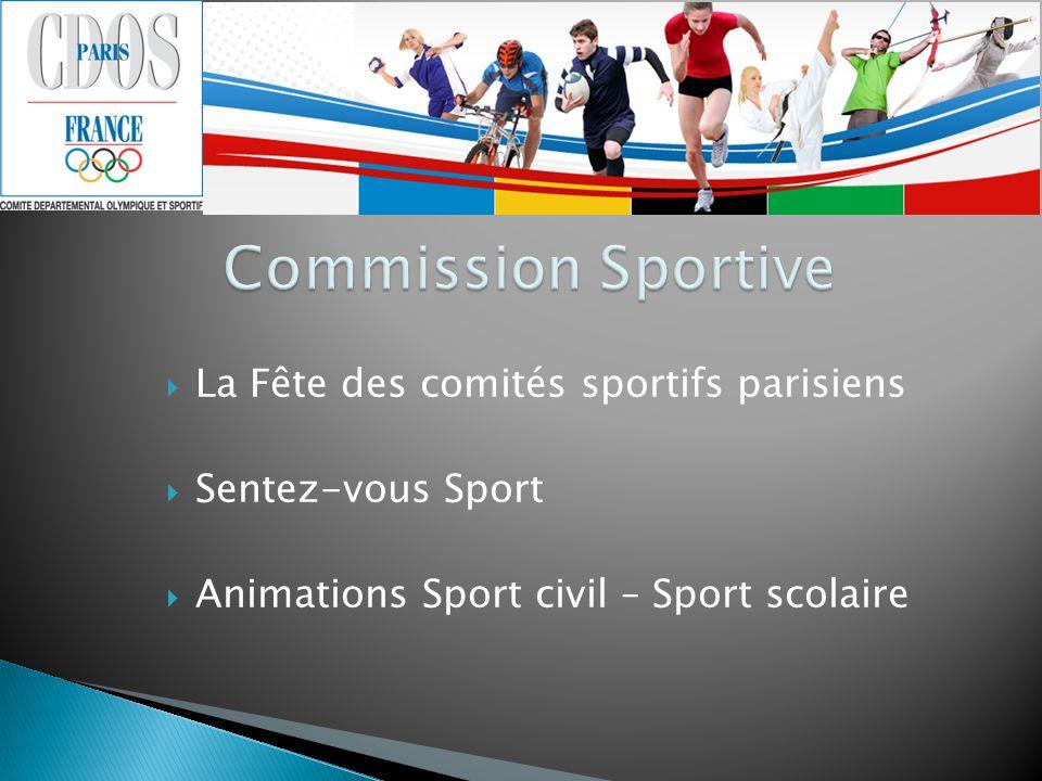 La Fête des comités sportifs parisiens Sentez-vous Sport Animations Sport civil – Sport scolaire