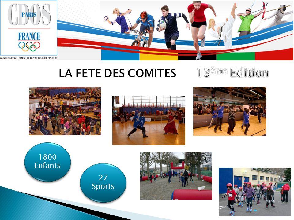 LA FETE DES COMITES 1800 Enfants 27 Sports
