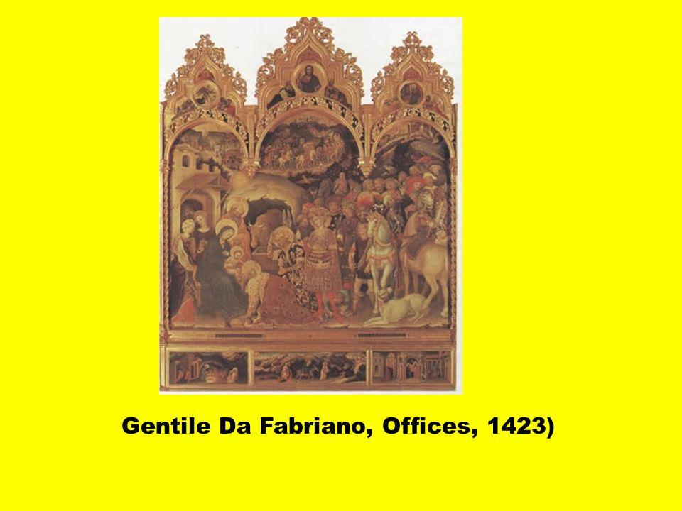 Frédéric Antal (Florence et ses peintres,1948): Masaccio et Da Fabriano reflètent la diversité des conceptions du monde des classes sociales: noblesse