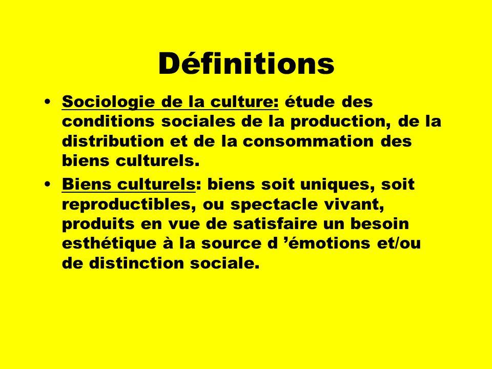 QU EST-CE QUE LA SOCIOLOGIE DE LA CULTURE?