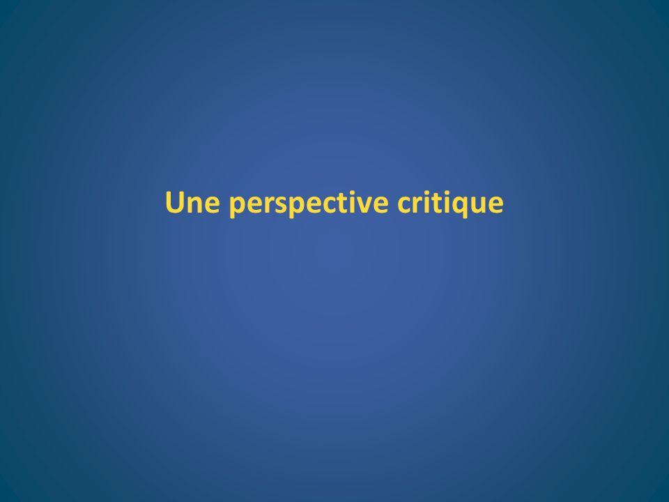 Une perspective critique