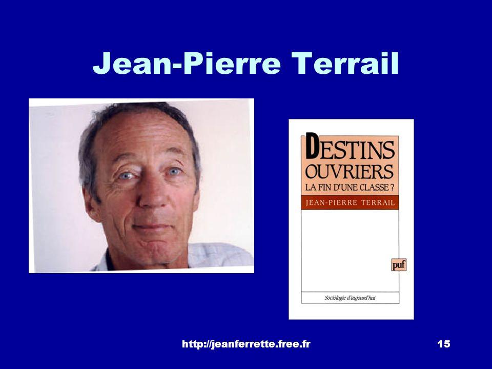 http://jeanferrette.free.fr14 « Louverture du système scolaire a bénéficié de façon équivalente aux différents milieux sociaux. Seules légères excepti
