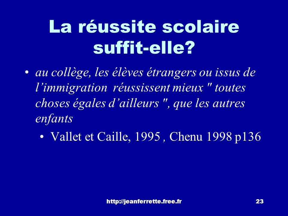 http://jeanferrette.free.fr22 Problème 2: la compétence des parents Le cas le plus extrême se trouve sans doute lorsque la famille, analphabète, ne di