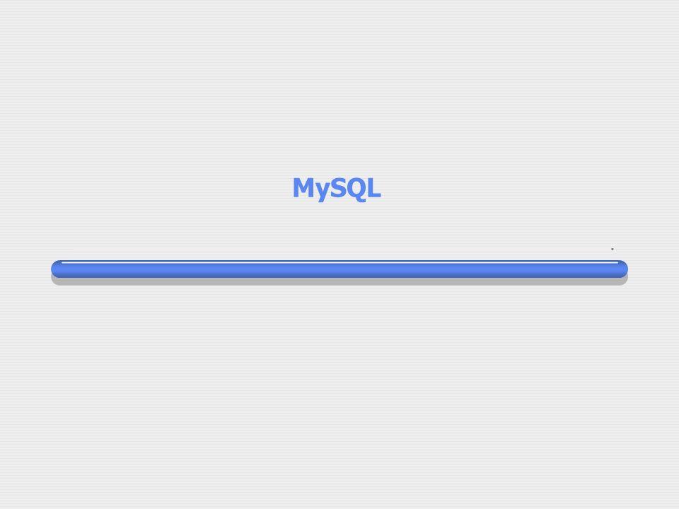 23 février 2003 Sommaire Rappel sur les bases de données Un SGDB : MySQL Interface avec PHP Utilisation avec phpMyAdmin Utilisation en mode ligne Les SGBD disponibles au CC