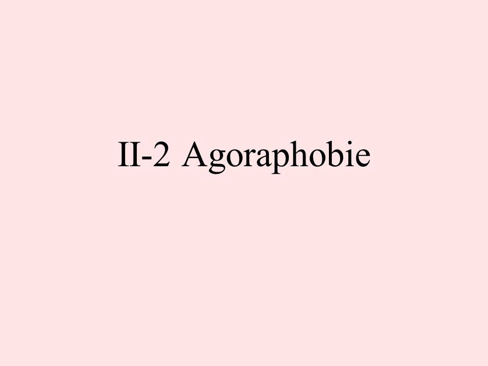 II-2 Agoraphobie