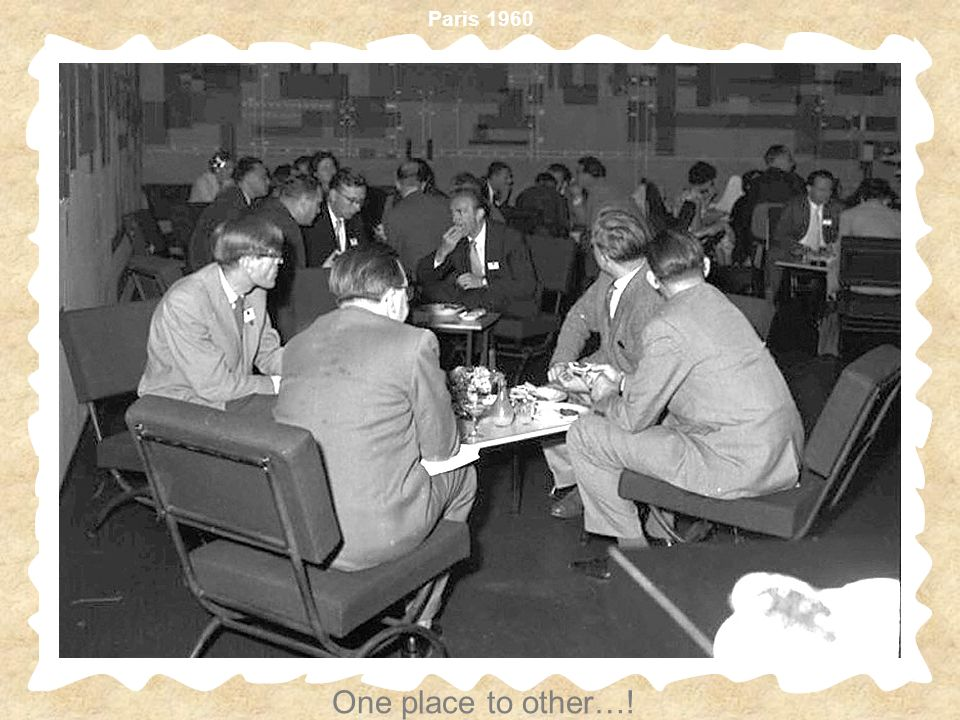 Paris 1960 One place to other…!