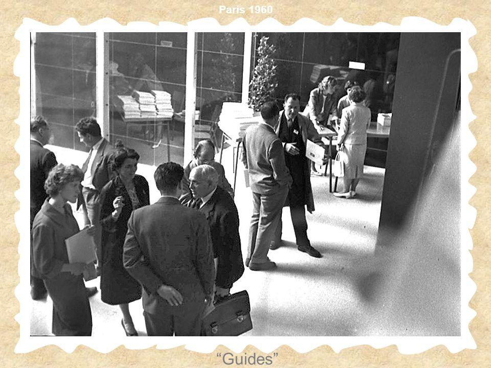 Paris 1960 Guides