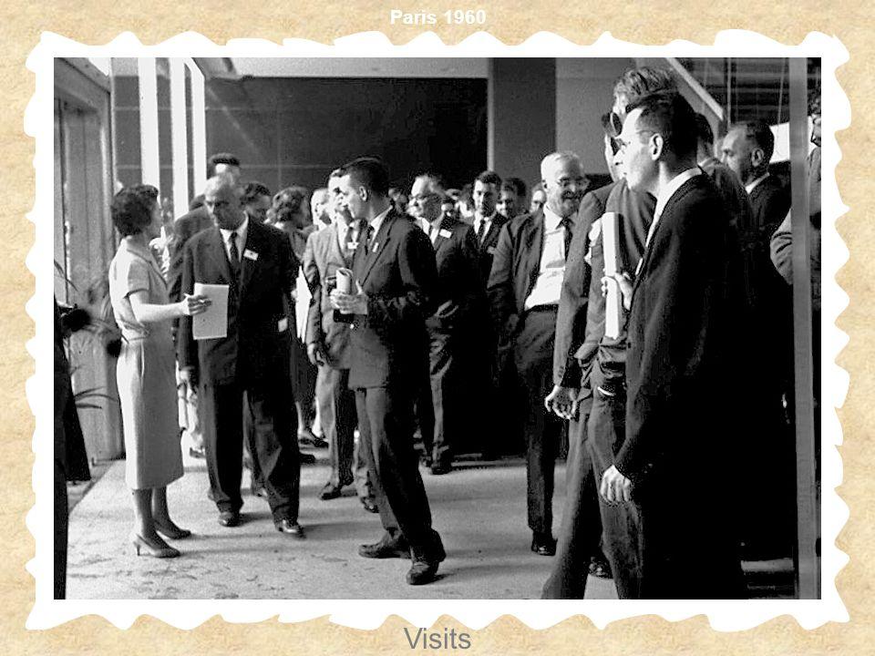 Paris 1960 Visits