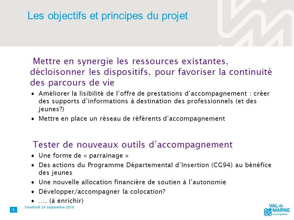 Les objectifs et principes du projet Mettre en synergie les ressources existantes, décloisonner les dispositifs, pour favoriser la continuité des parc