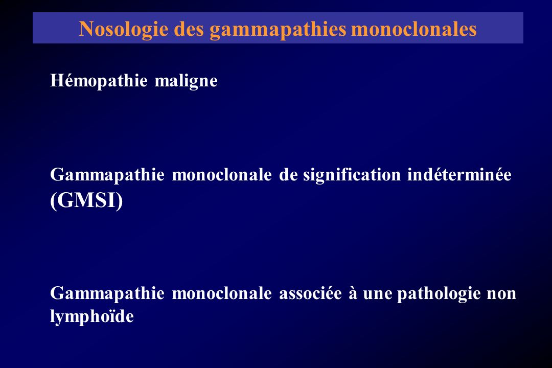 Kyle RA, Rajkumar SV.Monoclonal gammopathies of undetermined significance.