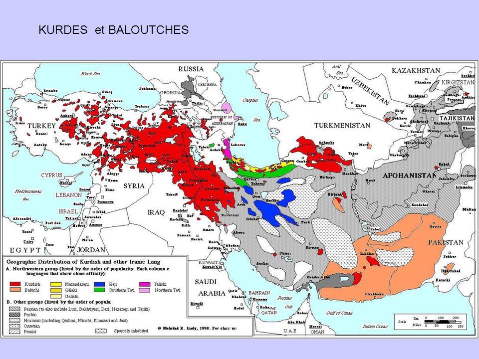 KURDES et BALOUTCHES