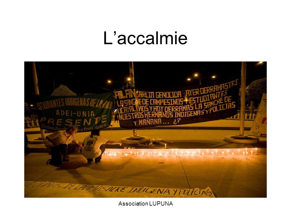 Laccalmie Association LUPUNA