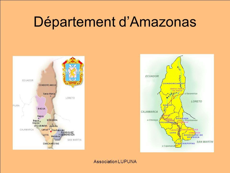 Les Habitants de la région: Awajun, Wapims et autres Association LUPUNA