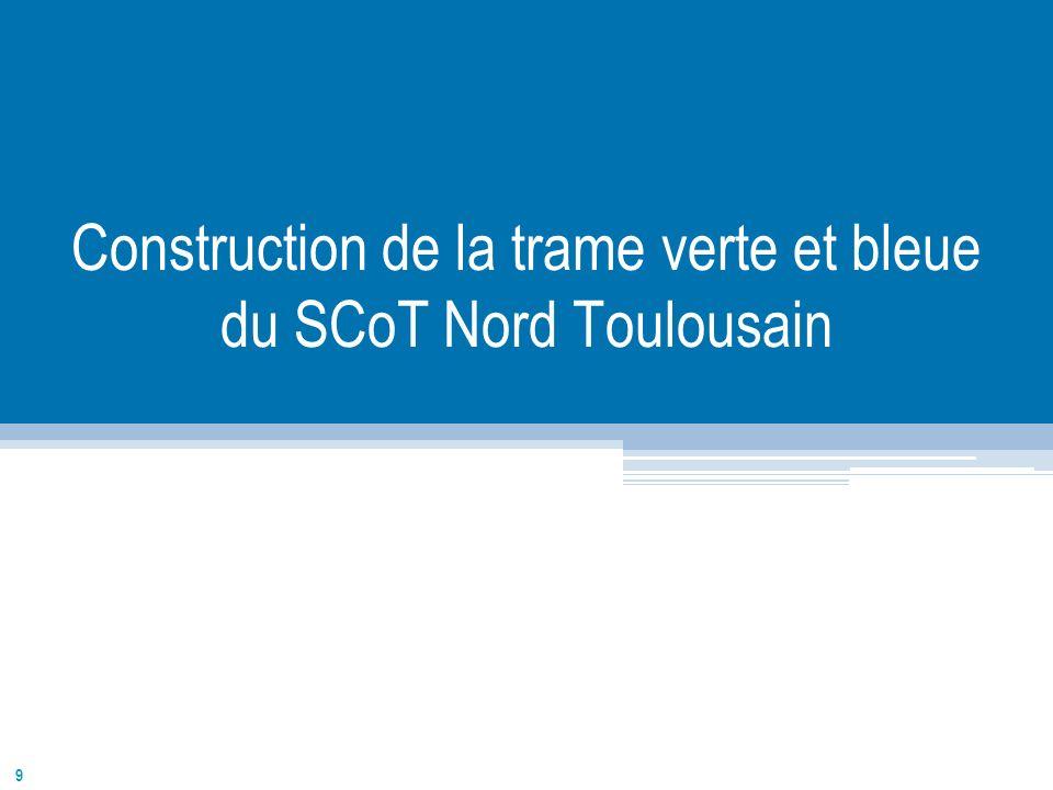 9 Construction de la trame verte et bleue du SCoT Nord Toulousain