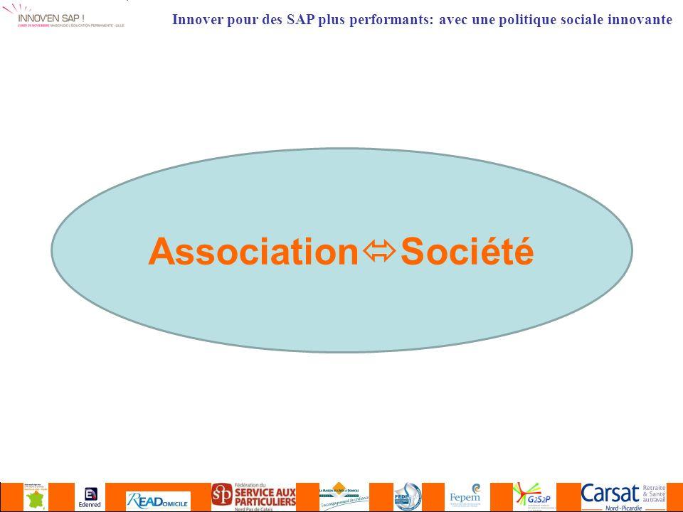 Association Société Innover pour des SAP plus performants: avec une politique sociale innovante