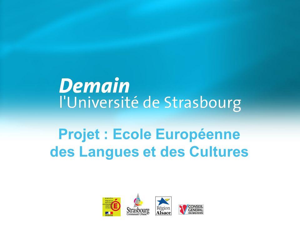 Projet : Ecole Européenne des Langues et des Cultures