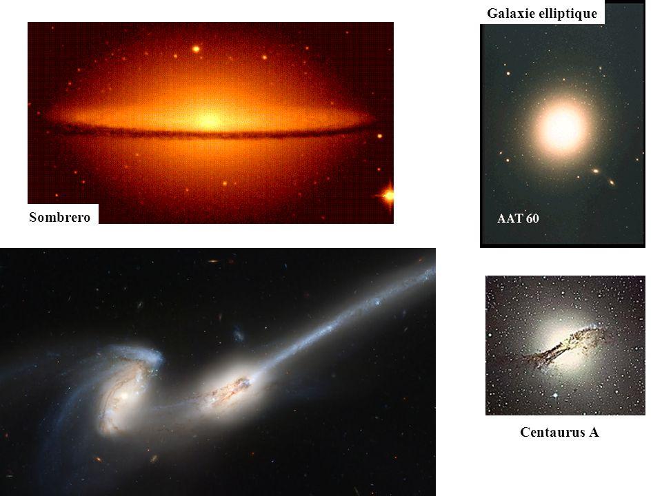 Sombrero Les Antennes Centaurus A Galaxie elliptique