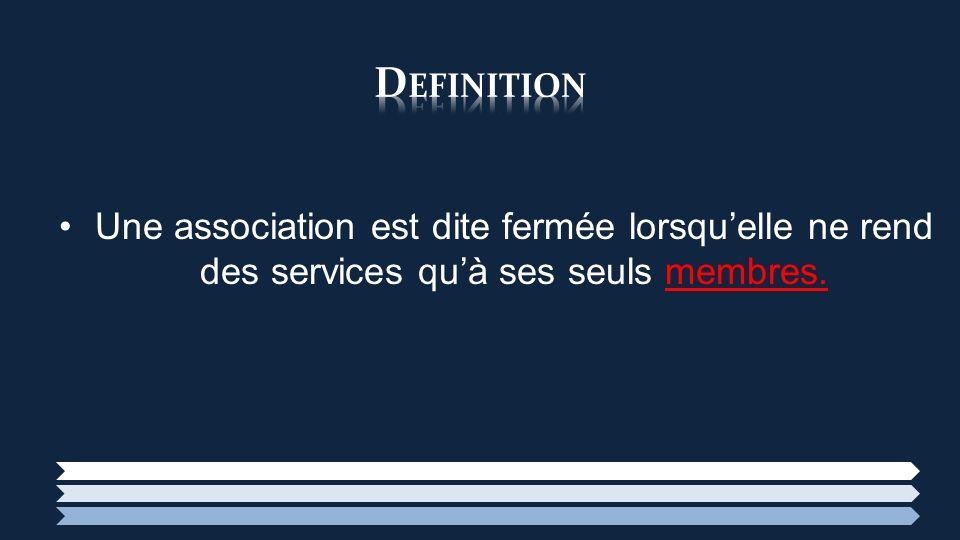 Sont considérés comme membres dun organisme les personnes: 1/ Qui ont adhéré à lassociation et peuvent participer aux assemblées générales et sont éligibles au conseil dadministration.