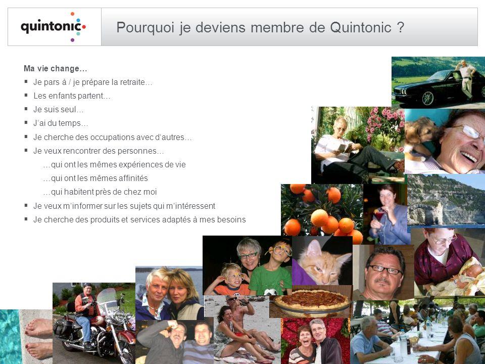 Pourquoi je deviens membre de Quintonic .