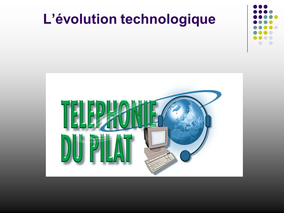 Lévolution technologique