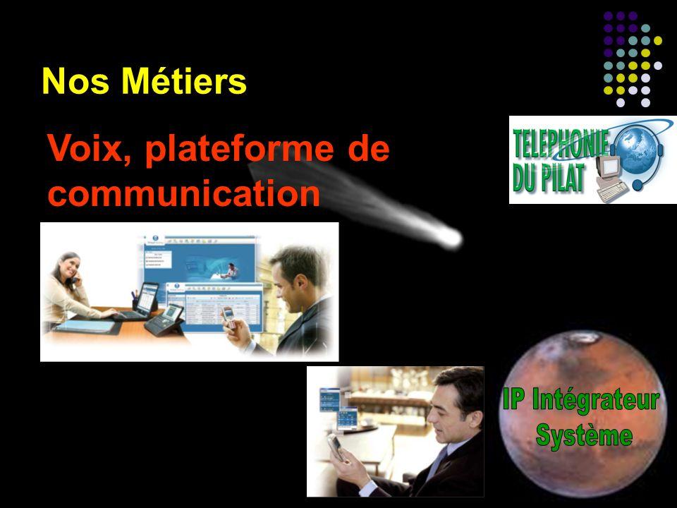 Nos Métiers Voix, plateforme de communication