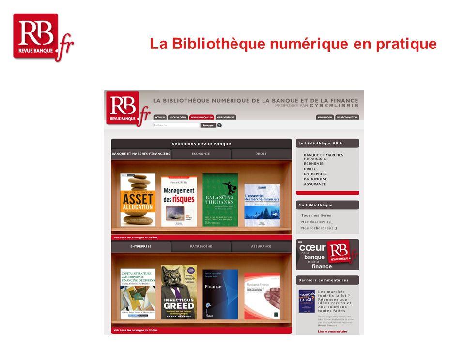 La Bibliothèque numérique en pratique