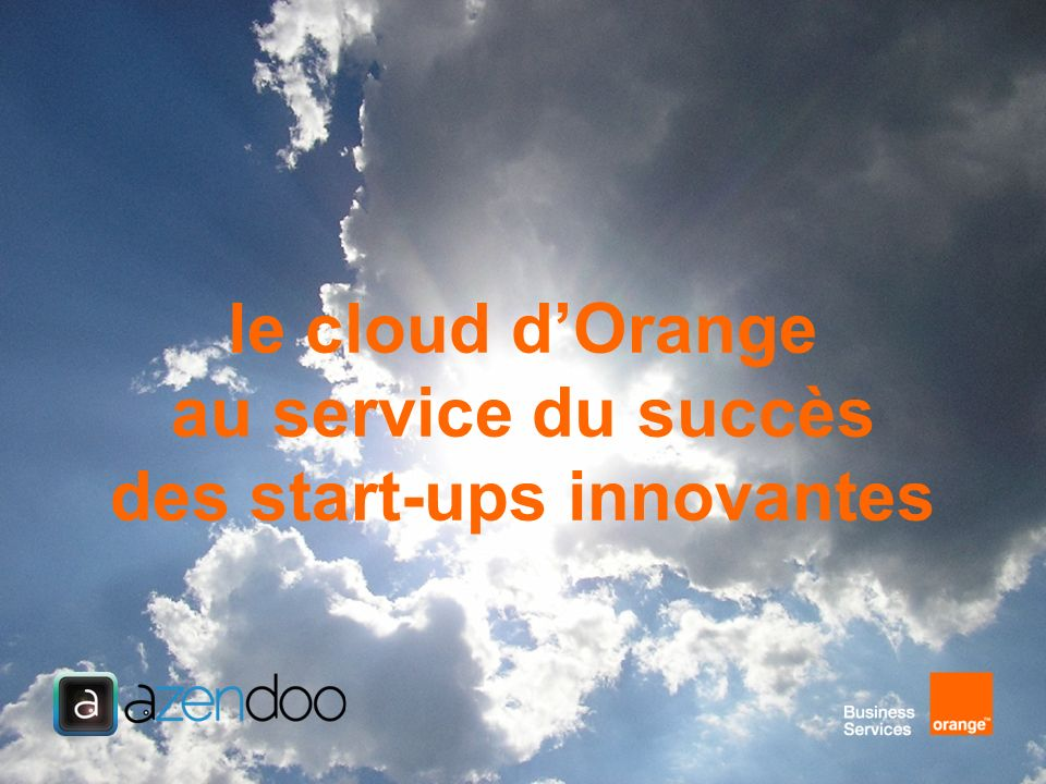 quand le Cloud Computing permet linnovation… INNOVATION BUSINESS INNOVATION IT