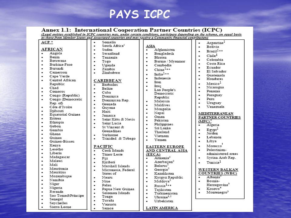PAYS ICPC