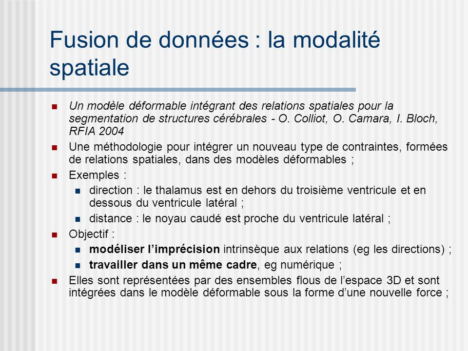 Adapter : modéliser le contexte Context-Based Vision System for Place and Object Recognition, A.