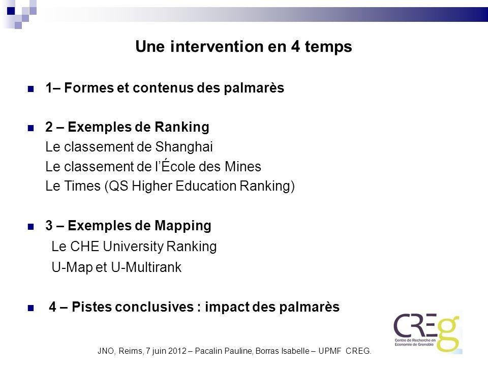 JNO, Reims, 7 juin 2012 – Pacalin Pauline, Borras Isabelle – UPMF CREG.