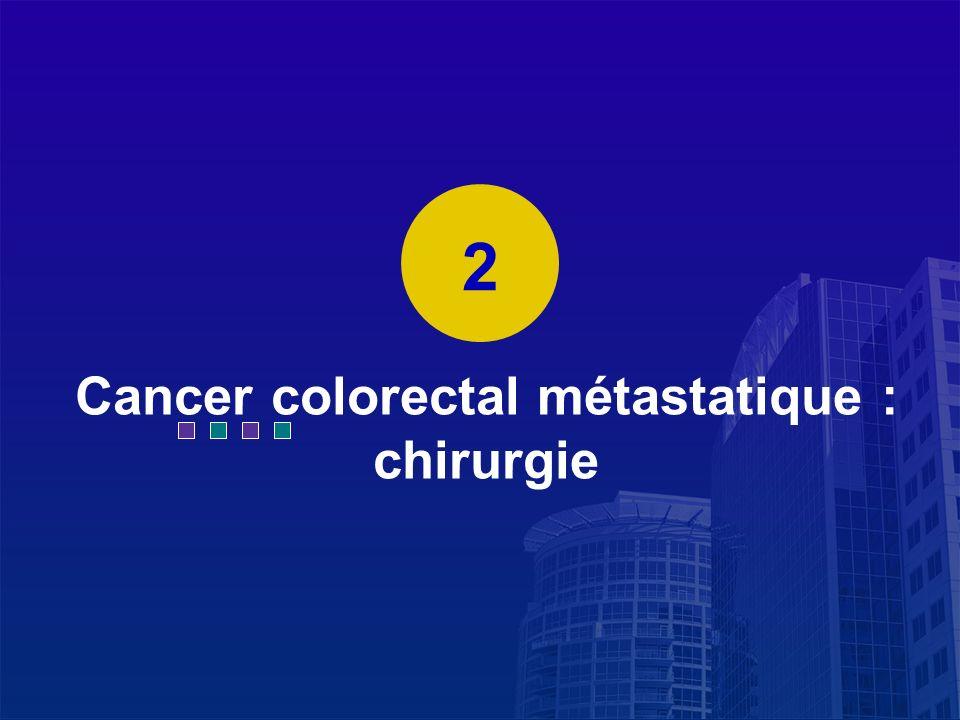 La Lettre du Cancérologue Cancer colorectal métastatique : chirurgie 2