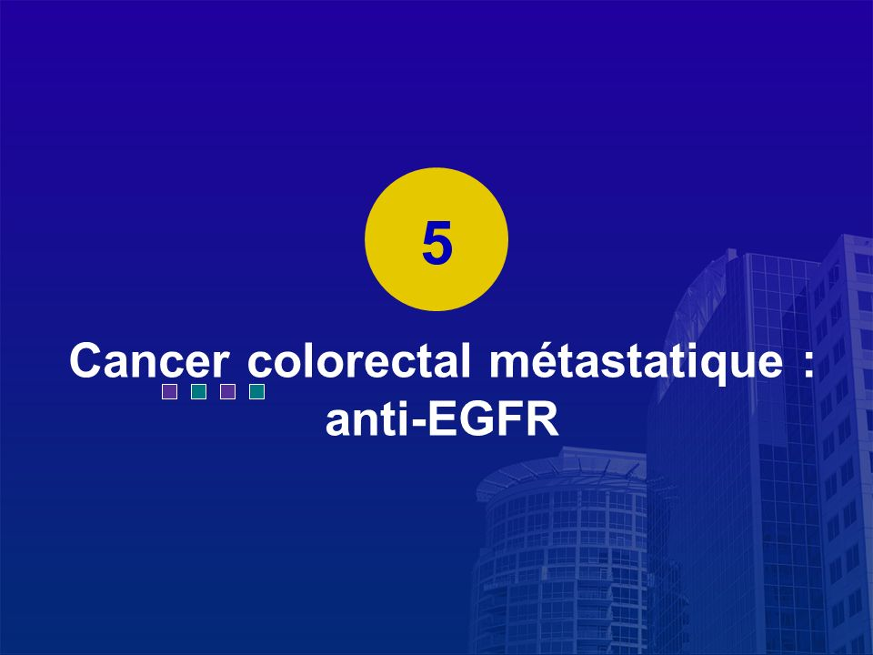 La Lettre du Cancérologue Cancer colorectal métastatique : anti-EGFR 5