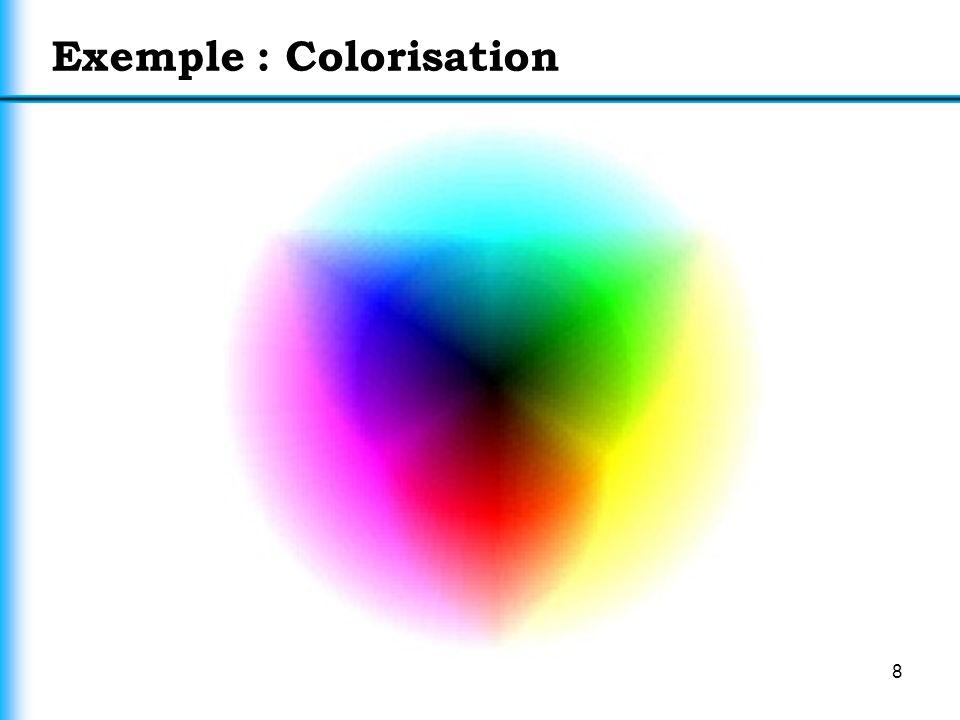 8 Exemple : Colorisation