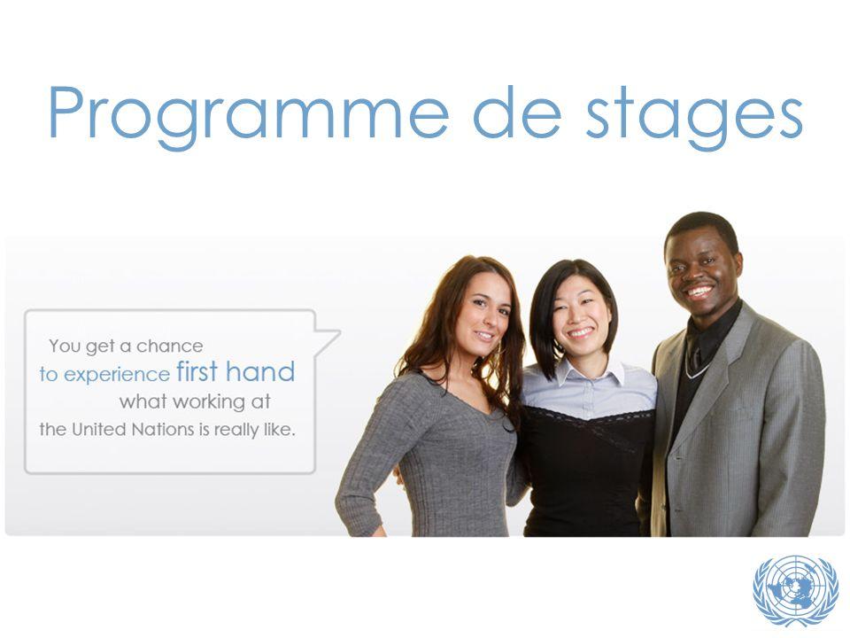 Programme de stages