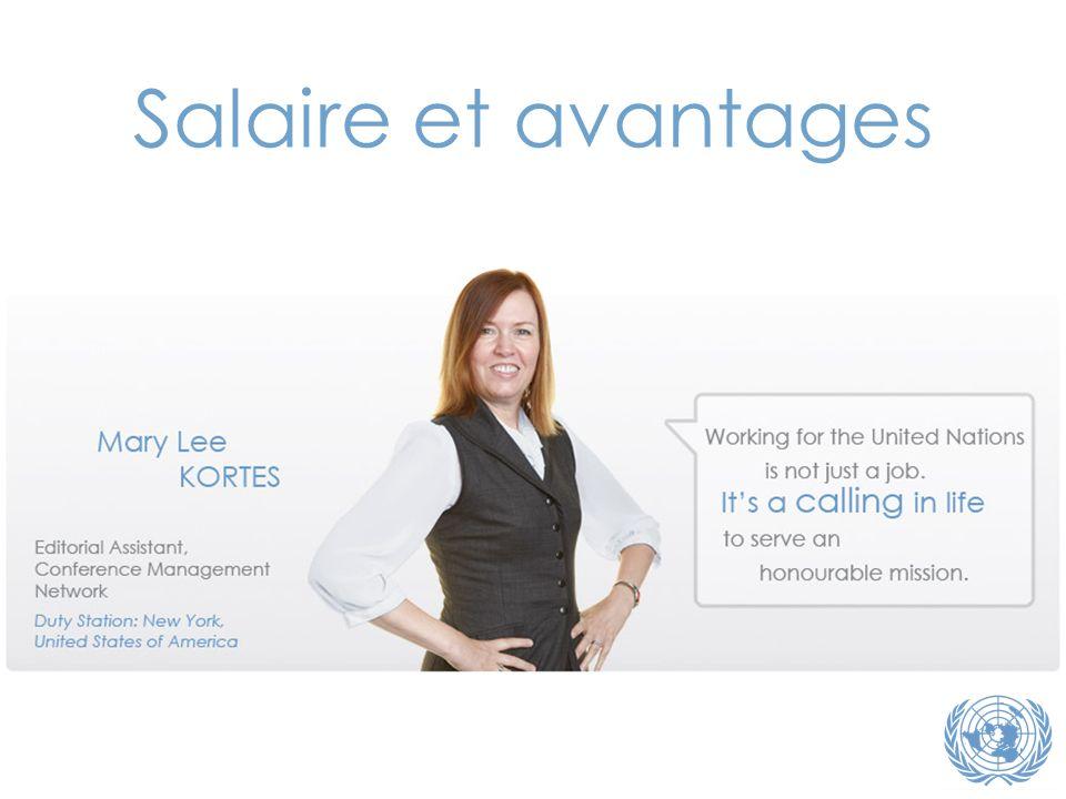 Salaire et avantages