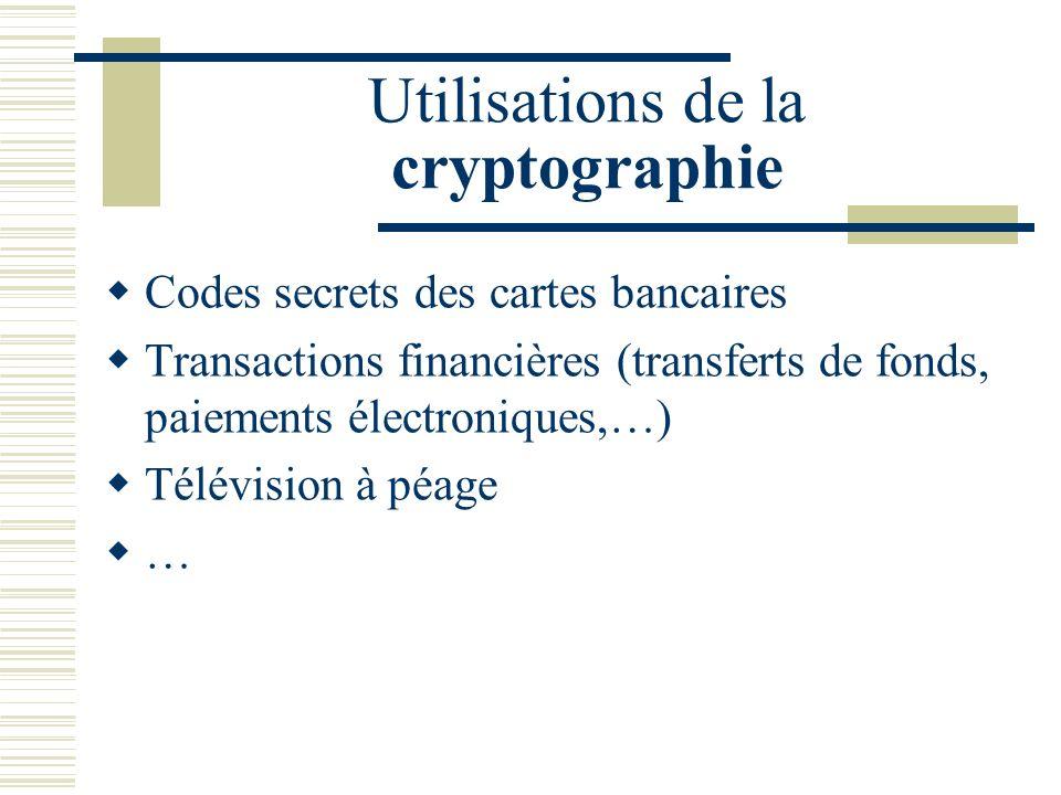 Cest la cryptographie à clef publique