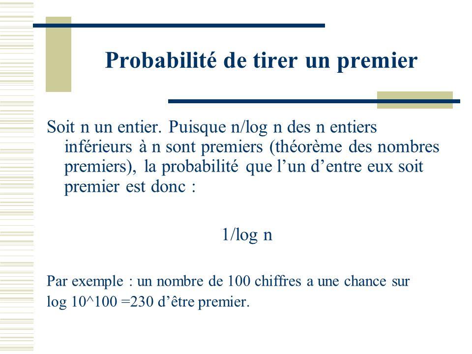 Le n-ième nombre premier Si p_n désigne le n-ième nombre premier, le théorème des nombres premiers donne : p_n équivalent à n log n