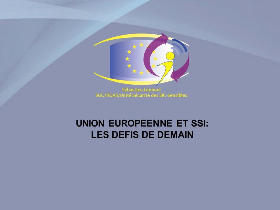 DGA5 / Unité sécurité des SIC-Sensibles Sébastien Léonnet Les avis exprimés n engagent que leur auteur et ne peuvent en aucun cas être considérés comme une position officielle du Conseil Mais malheureusement révolutionnaire aussi parce quil surestime les capacités actuelles UE sur le plan du développement de solutions « produits cryptographiques »: 25.