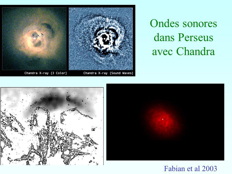 Ondes sonores dans Perseus avec Chandra Fabian et al 2003