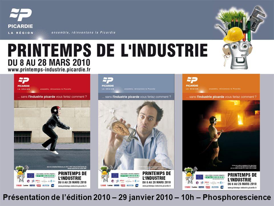 Présentation de lédition 2010 – 29 janvier 2010 – 10h – Phosphorescience