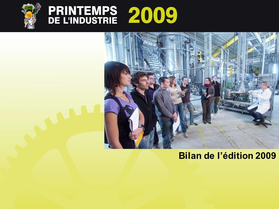 Bilan de lédition 2009