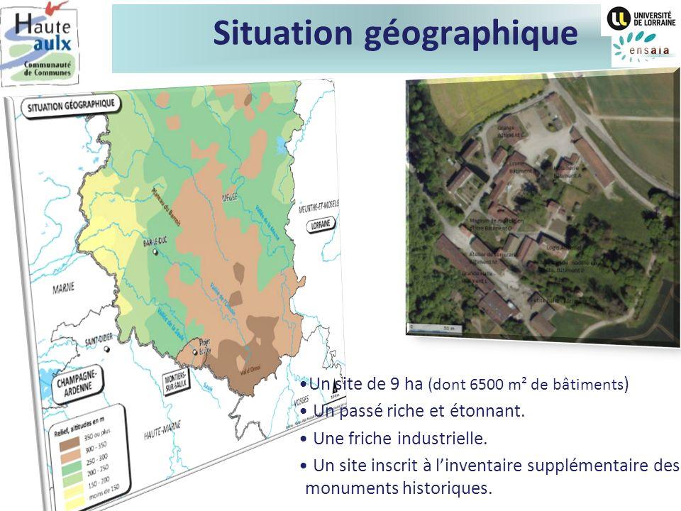 Contexte territorial La Communauté de Communes de la Haute Saulx Un territoire rural (13hbts/km²).