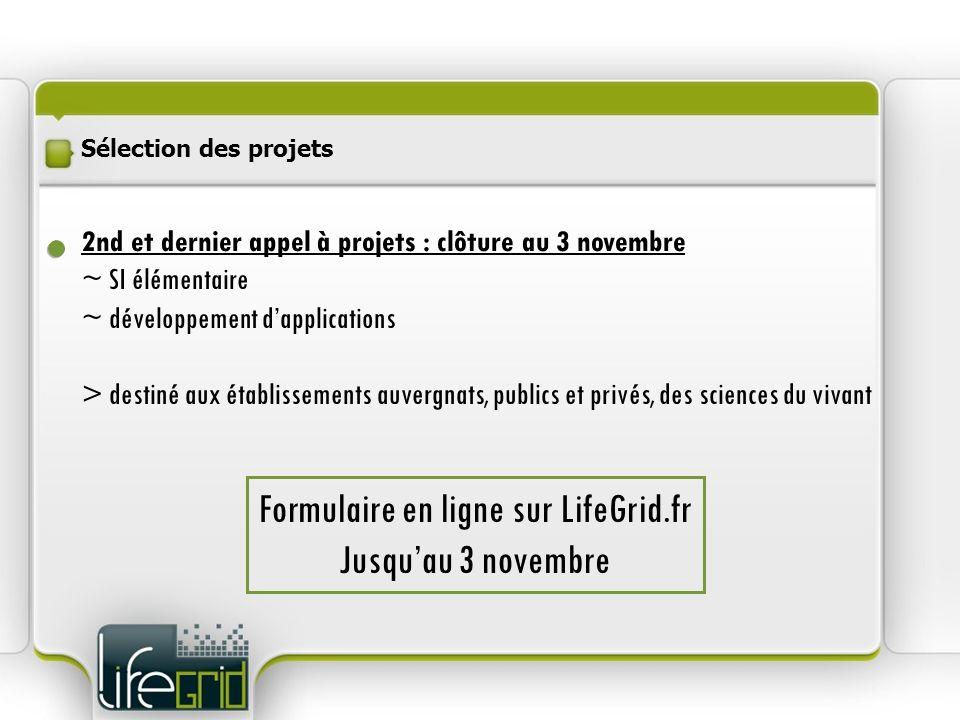 2nd et dernier appel à projets : clôture au 3 novembre ~ SI élémentaire ~ développement dapplications > destiné aux établissements auvergnats, publics